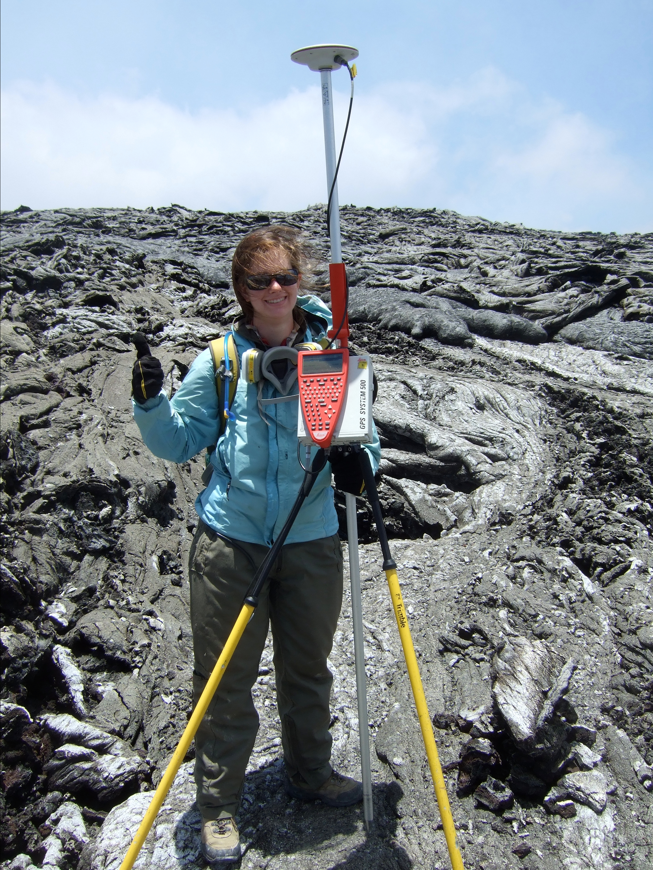 GPS Survey, Kilauea